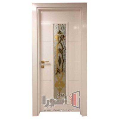 درب اتاقی شیشه خور،اهورا درب