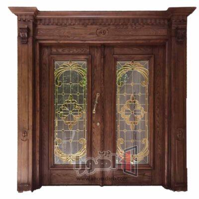 درب لابی چوبی،اهورا درب