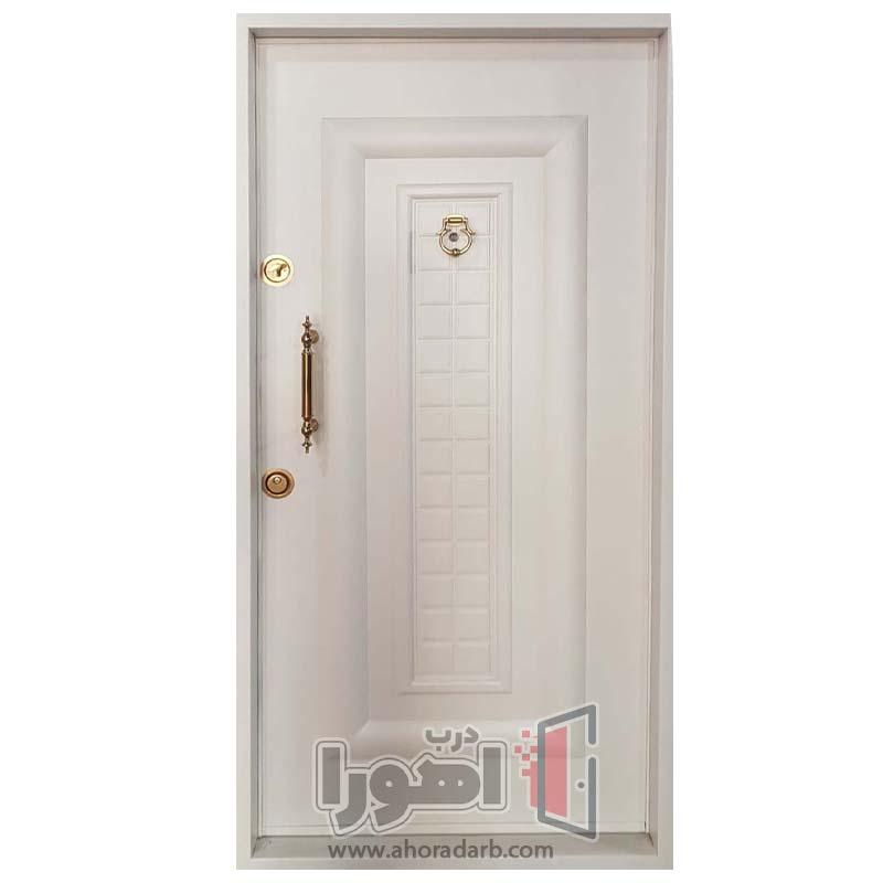 درب ورودی سفید،اهورا درب