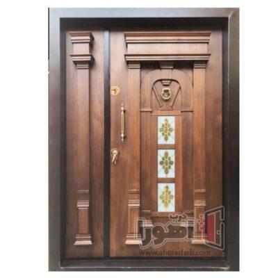 درب ورودی ضدسرقت لوکس،اهورا درب