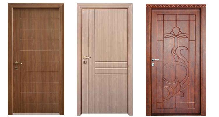 درب های روکش PVC