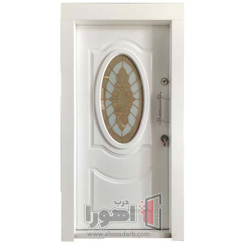 درب ضدسرقت سفید مدرن