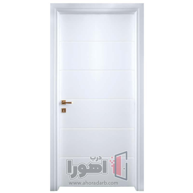 درب اتاقی سفید مدرن،اهورا درب